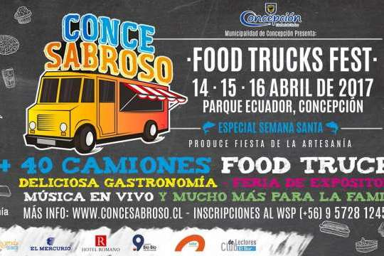 Conce Sabroso Food Truck Fest 2017