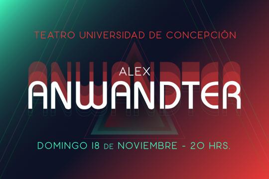 Alex Anwandter En Concepción