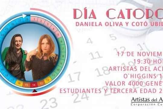 Stand Up: Día Catorce De Cotó Ubilla Y Daniela Oliva