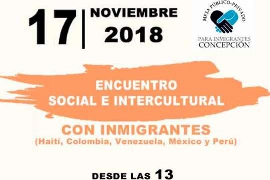 Encuentro Social E Intercultural Con Inmigrantes