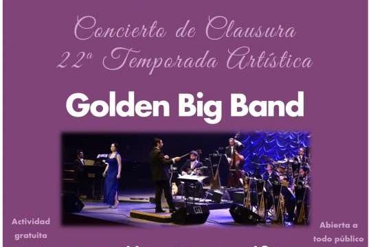 Con Concierto De Golden Big Band Culmina La 22ª Temporada Cultural De La USM Concepción