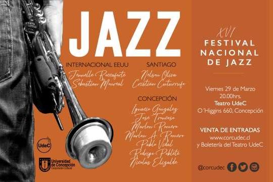 Festival Nacional De Jazz Se Presenta En El Teatro Udec