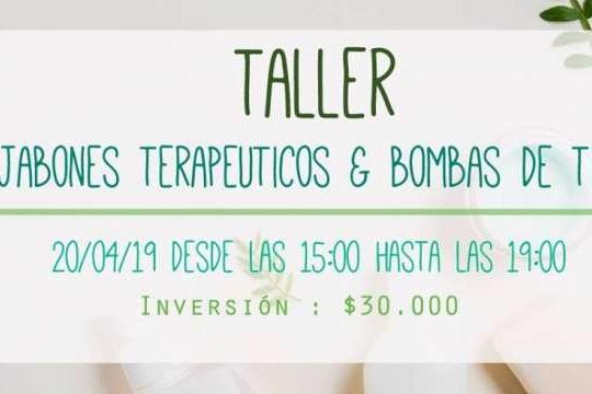 Taller: Jabones Terapéuticos Y Bombas De Tina
