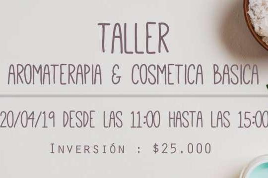 Taller Aromaterapia Y Cosmetica Básica