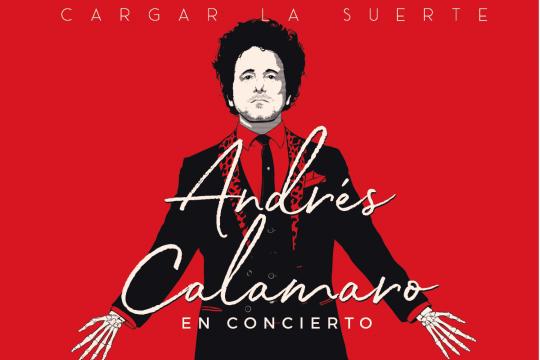 Andrés Calamaro  Presentará Su Nuevo Álbum En Concepción Y Santiago