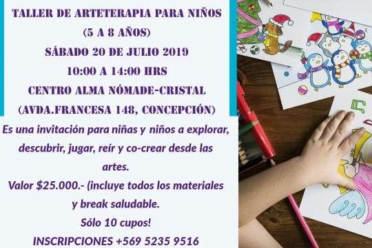 Taller De Arteterapia Para Niños (5 A 8 Años)
