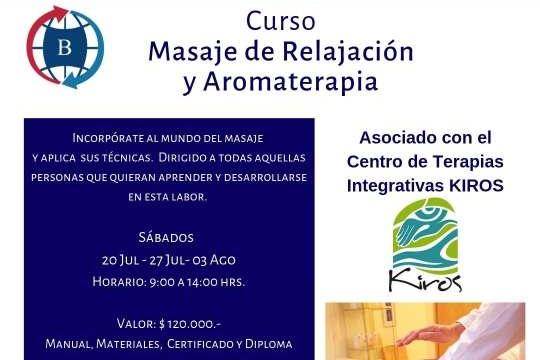 Curso Masaje De Relajación Y Aromaterapia Concepción