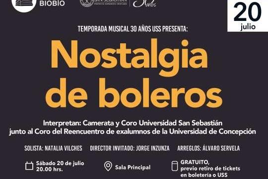 Nostalgia De Boleros En El Teatro Biobío