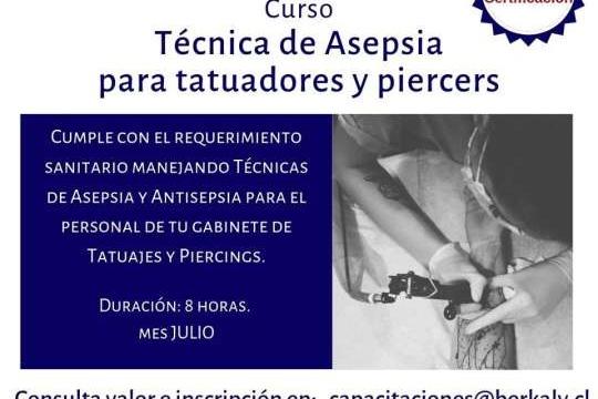 Curso Técnica De Asepsia Para Tatuadores
