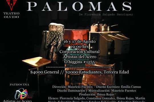 Obra Palomas Se Presenta En Concepción