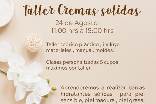 Taller Cremas Solidas