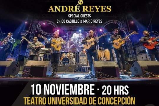 El Flamenco De Gipsy Kings Junto A André Reyes Se Toma Concepción