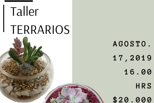 Taller Terrarios Agosto