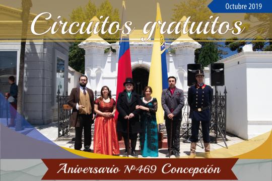 Circuitos Gratuitos En El Cementerio General De Concepción