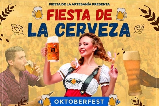 Fiesta De La Cerveza Oktober Fest 2019 Espacio Romano