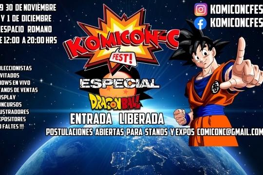 Komicon C Fest Espacio Romano
