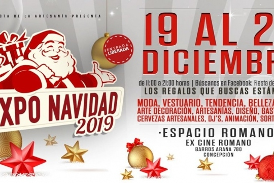 Expo Navidad 2019 Espacio Romano Concepción