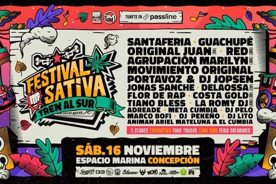 Festival Sativa: Trenalsur
