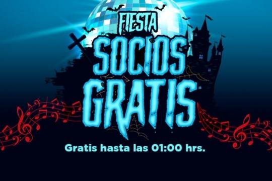 Fiesta Socios Gratis Halloween