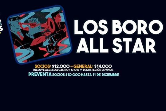 Noche De Jazz, Vinos & Blues Con Los Boro All Star