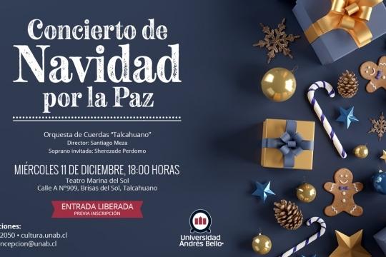 Concierto De Navidad Por La Paz
