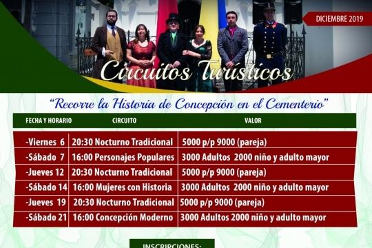 Circuitos En El Cementerio General De Concepción