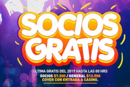 Fiesta Socios Gratis