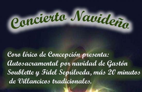 Concierto De Navidad Del Coro Lírico De Concepción
