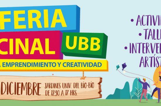 2º Feria Vecinal UBB, Territorio, Emprendimiento Y Creatividad