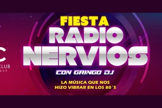 Fiesta Radio Nervios Con Gringo Dj