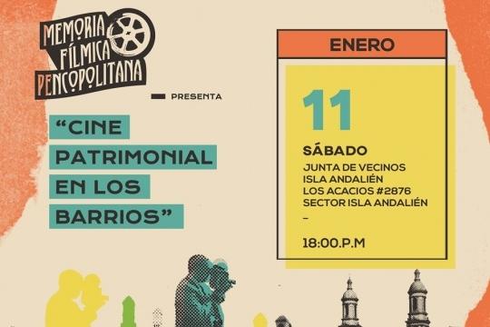 Ciclo De Cine Patrimonial En Los Barrios