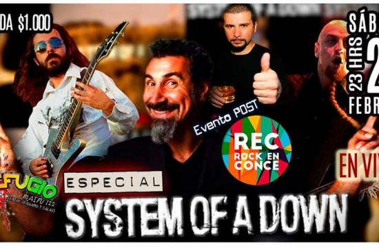 especial system of a down en refugio bar
