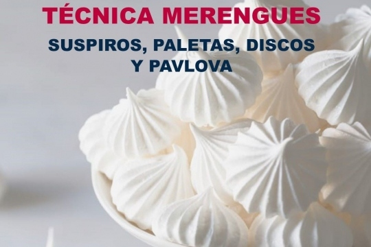 Taller De Repostería On-Line: Técnica Merengues